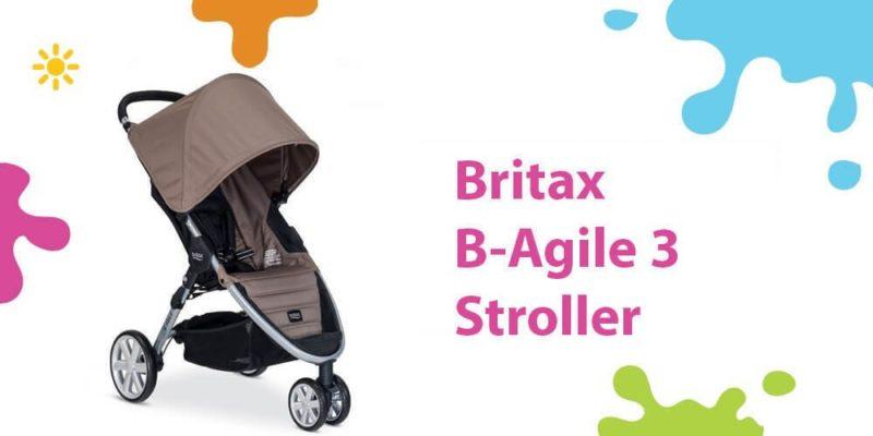 Britax B Agile Review (A Super Compact Car Seat Ready Light Stroller)