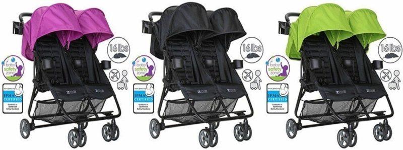 Zoe XL2 Double Lightweight Stroller Review