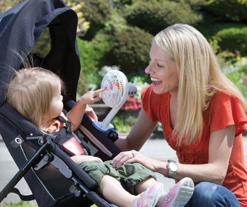 Diono Battery Operated Rechargeable Stroller Fan