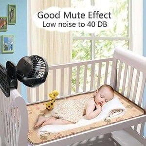 Baby Stroller Fan Noise level