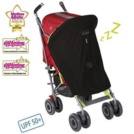 SnoozeShade Original baby stroller sunshade