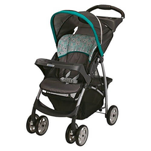 Graco LiteRider Classic Connect Stroller Opt01