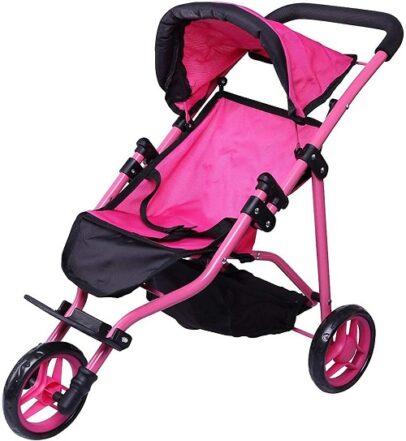 Jogger Hot Pink Doll Stroller