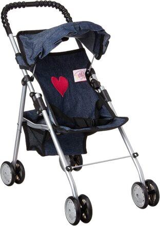 My First Doll Stroller Denim