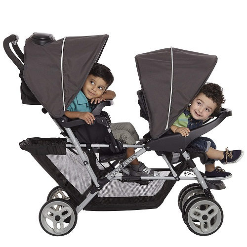 Consider Buy a Double Stroller for Twins