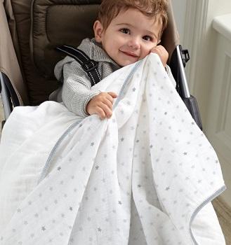 Aden by Aden + Anais Stroller Blanket