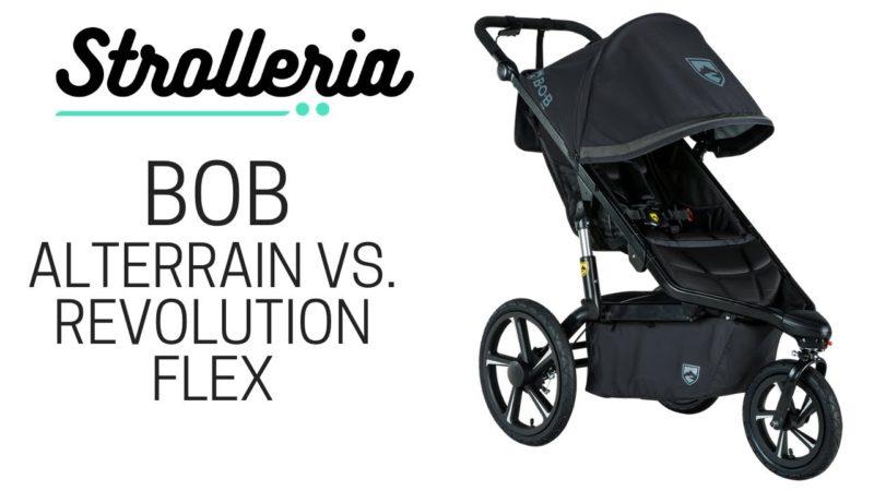 BOB Alterrain, Alterrain Pro and Revolution Flex Stroller Comparison