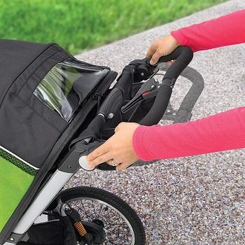 Hand brake stroller
