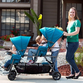 Triple Stroller Weight Capacity