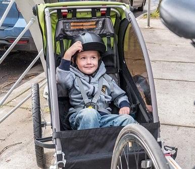 Baby Bike Trailer - Sitting