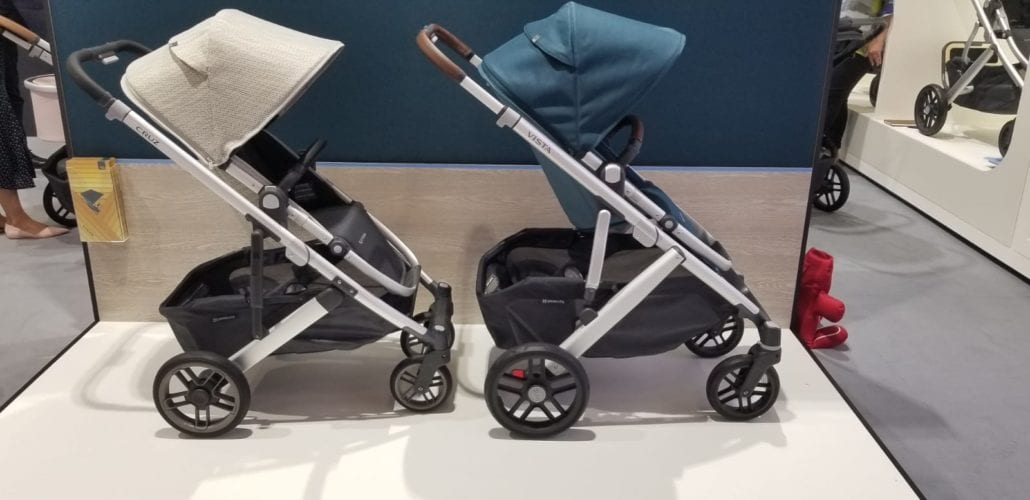 Uppababy Cruz Vs Vista Strollers