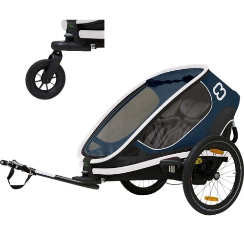 Hamax Outback Two Seat Reclining Multi-Sport Child Bike Trailer