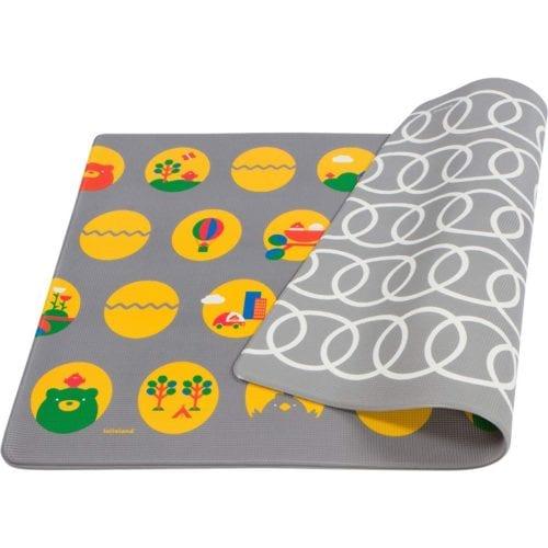 Lollaland Large Premium, Reversible, Haute, Designer Baby Playmat