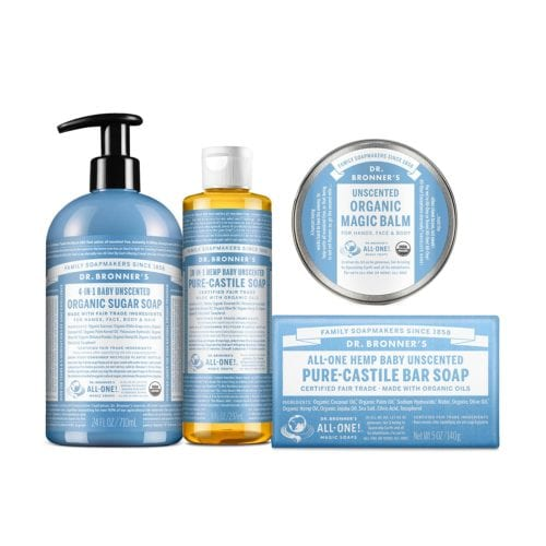 Dr. Bronner's Baby Unscented Gift Set