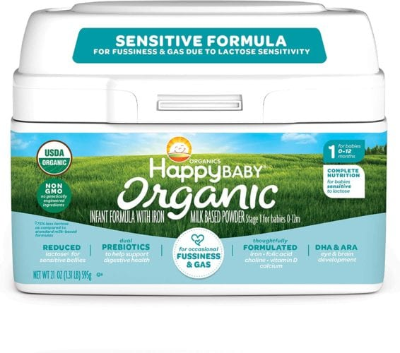 Happy Baby Organics Infant Formula