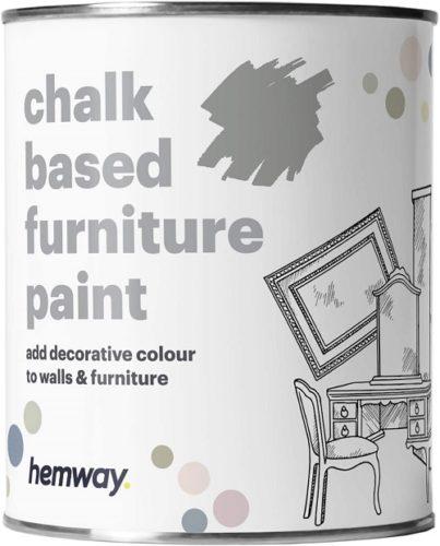 Hemway Dove Grey Chalk Based Furniture Paint