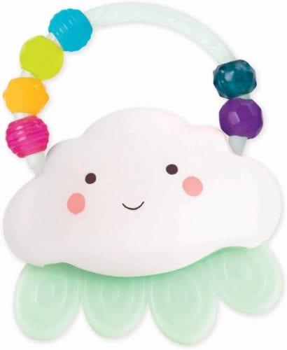 Rain-Glow Squeeze – Light-Up Cloud Rattle
