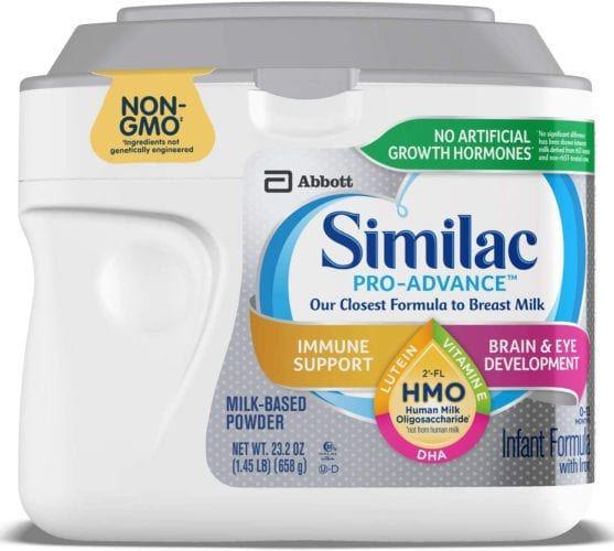 Similac Pro-Advance Non-GMO Infant Formula