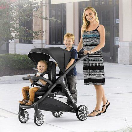 Chicco BravoFor2 LE StandingSitting Double Stroller