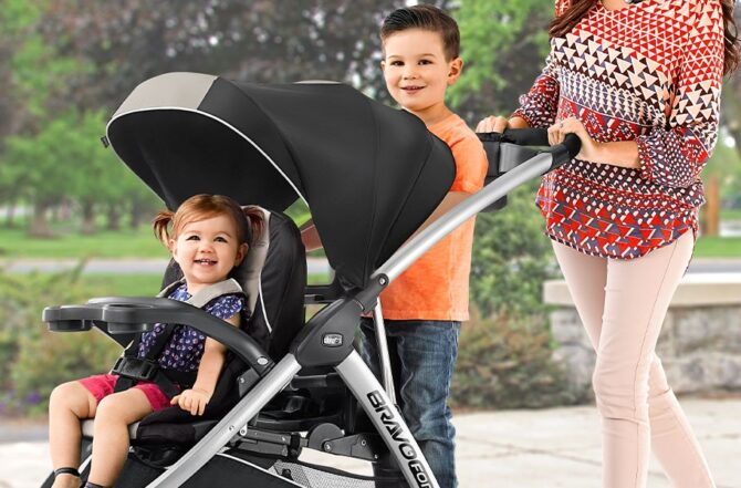 Double Strollers Compatible with Chicco KeyFit 30