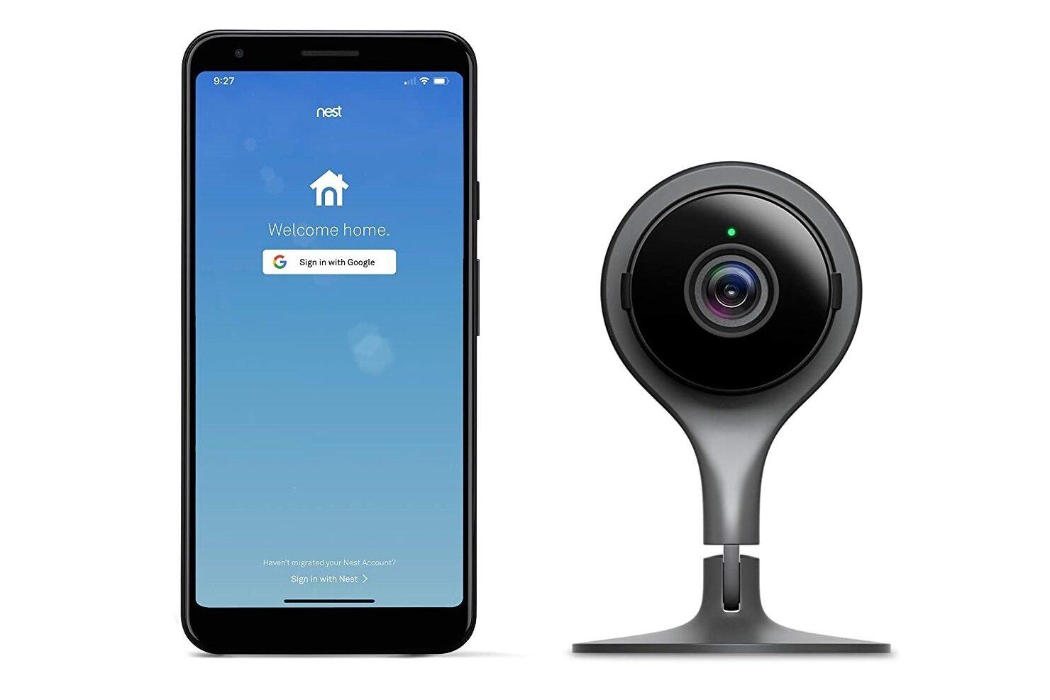Google Nest Cams indoor