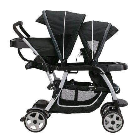 Graco Ready2Grow LX Double Stroller Design