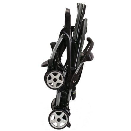 Graco Ready2Grow LX Double Stroller Folding