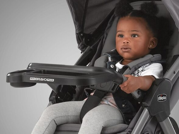 Lightweight Stroller with Tray