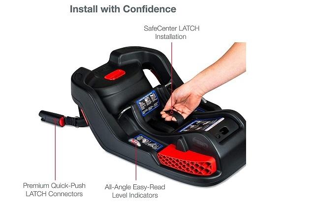 Read Instructions for installing stroller